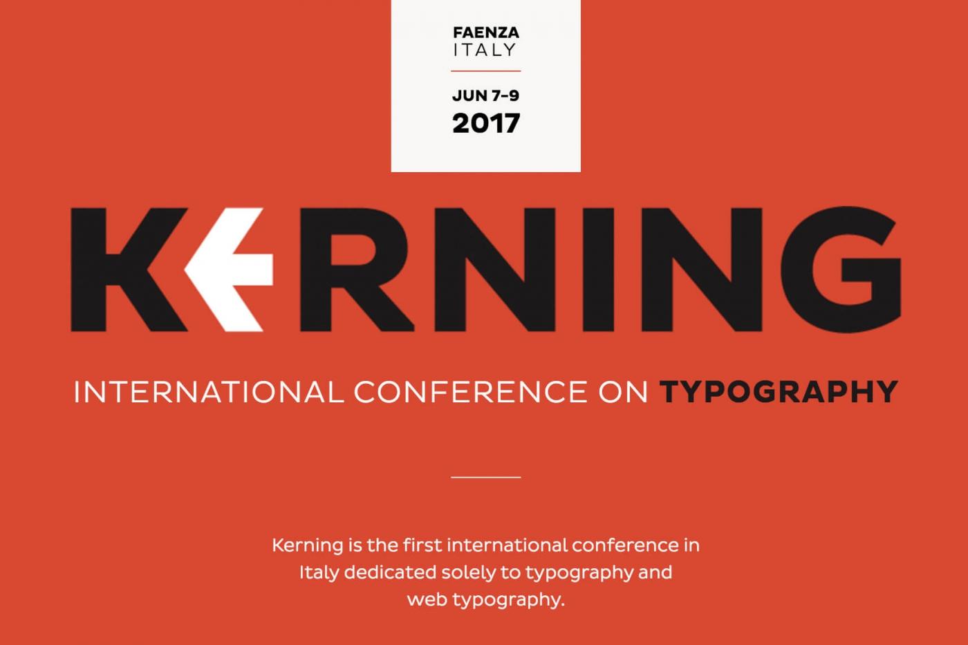 Kerning Conference 2017