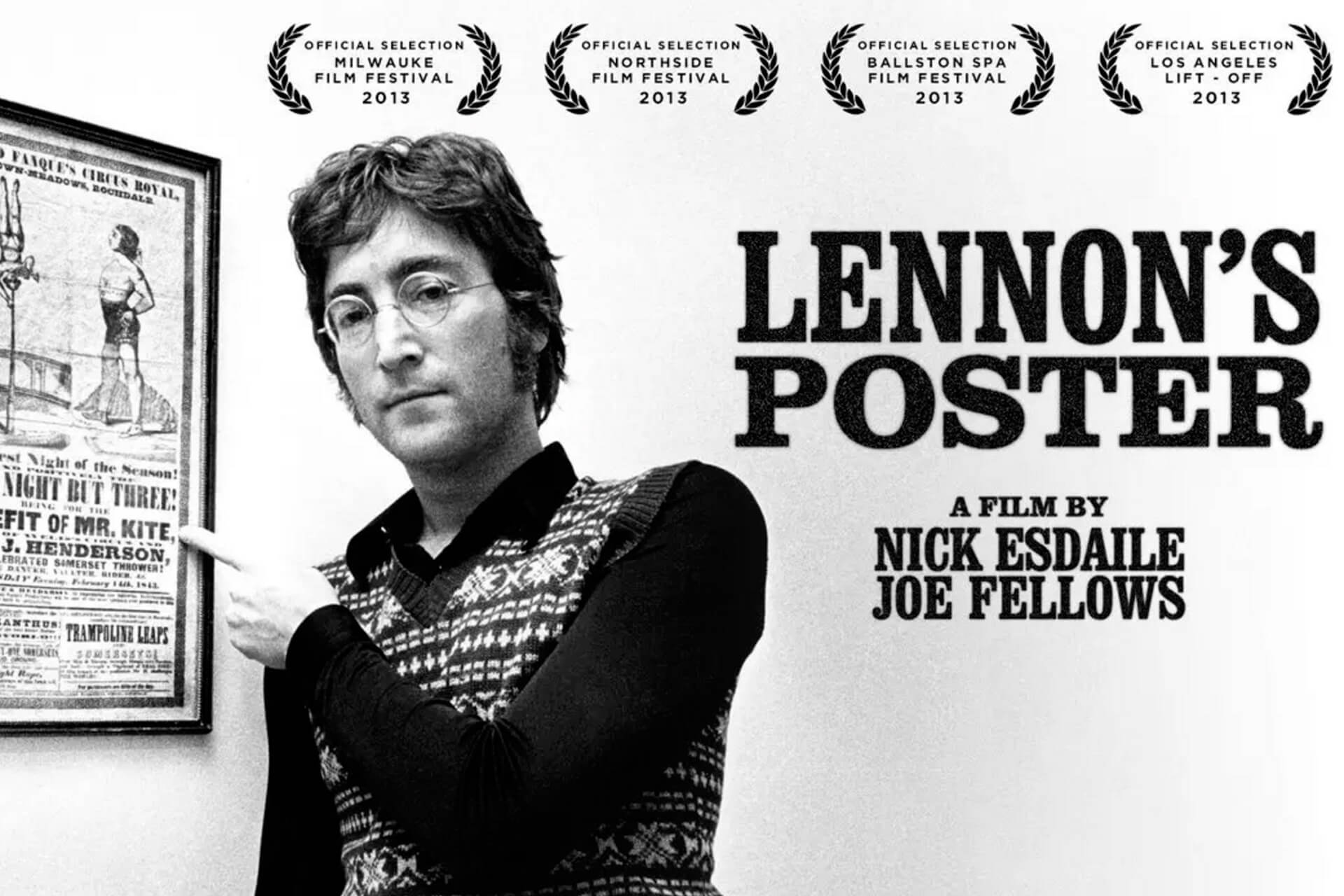 Il poster di John Lennon, di Make Productions