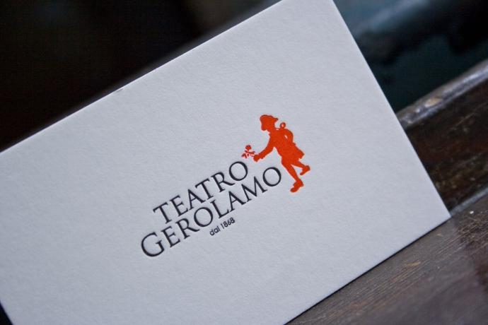 Tipografia Pezzini: Teatro Gerolamo