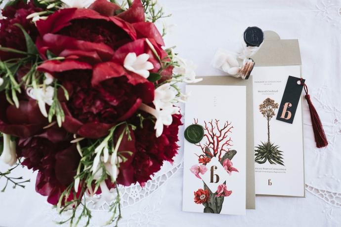Partecipazioni di nozze nozze di Fabrizio e Bruna